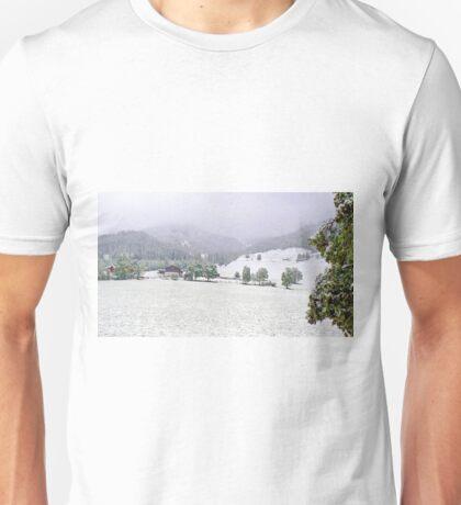 Snowing in Hinterthal Unisex T-Shirt