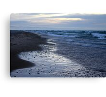 Blues and Stones Canvas Print