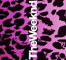 The Weeknd Pink Cheetah Print Case 2 by Ryan Perkins