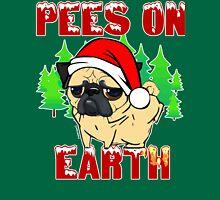 Pees on Earth Pug Unisex T-Shirt