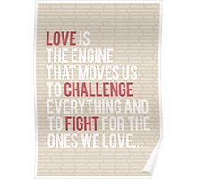 Love Is Engine Poster