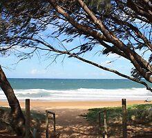 To the Beach by NinaJoan