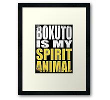 Bokuto is my Spirit Animal Framed Print
