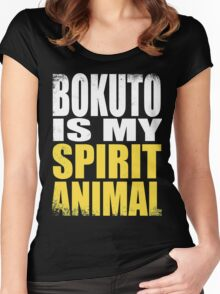 Bokuto is my Spirit Animal Women's Fitted Scoop T-Shirt