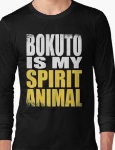 Bokuto is my Spirit Animal Long Sleeve T-Shirt