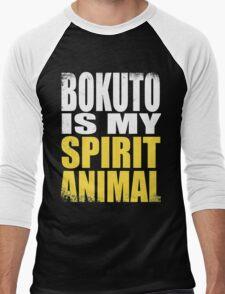Bokuto is my Spirit Animal Men's Baseball ¾ T-Shirt