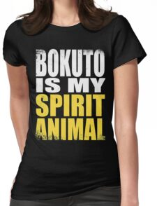 Bokuto is my Spirit Animal Womens Fitted T-Shirt