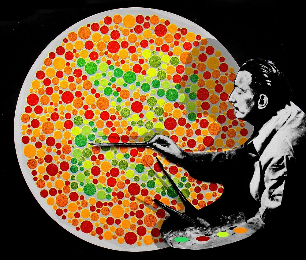 dali & the dots by Loui  Jover