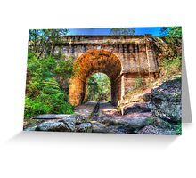Lennox Bridge Greeting Card