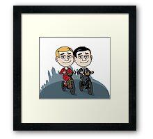 Barry & Archer Framed Print