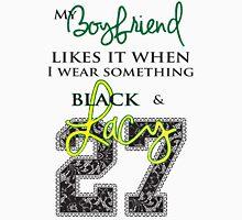 Wearing Something Lacy - boyfriend Women's Fitted Scoop T-Shirt