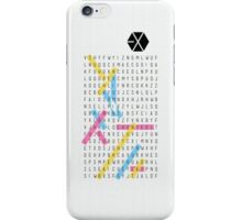 EXO Word Search (Phone Case) iPhone Case/Skin