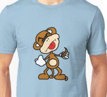 poop throwing monkey Unisex T-Shirt