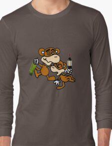 drunken monkeys Long Sleeve T-Shirt