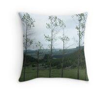 Woodwind Quintet Throw Pillow