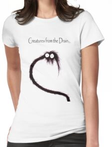 creatures from the drain 42 Womens Fitted T-Shirt