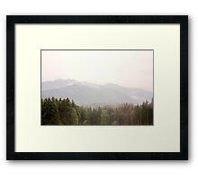 Ephermeral Framed Print