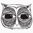 Giant eyes Owl 3 by annieclayton