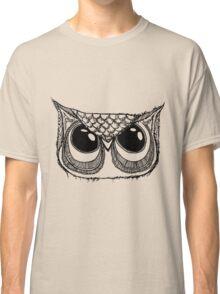 Giant eyes Owl 2 Classic T-Shirt