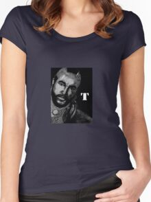 PITTY THE FOOL! Women's Fitted Scoop T-Shirt