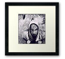 Hood Framed Print