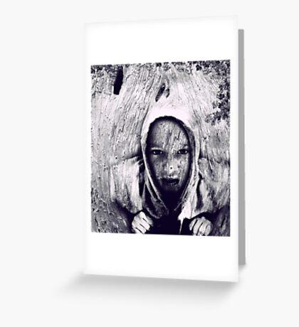Hood Greeting Card