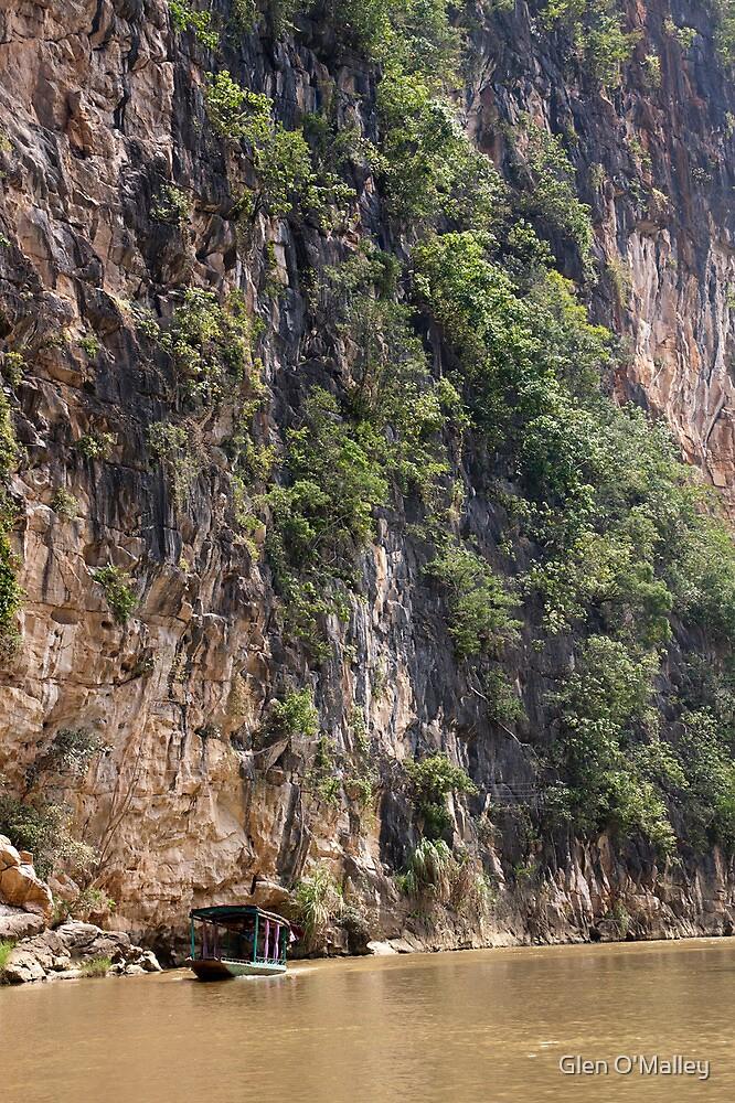 Ba Be Lake, North Vietnam by Glen O'Malley