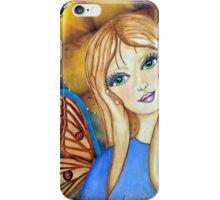 Blue Angel iPhone Case/Skin