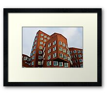 Duesseldorf, Gehry Building Framed Print