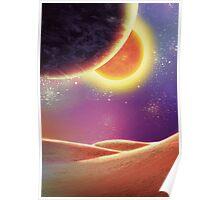 Space Desert Poster