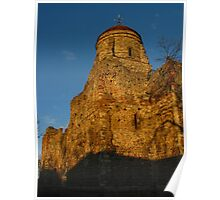 Winter Sunshine On Colchester Castle Poster