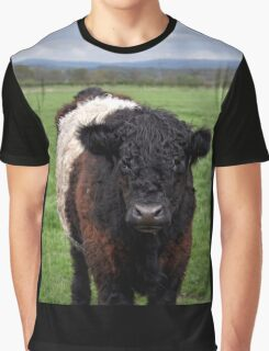 Belted Galloway Graphic T-Shirt