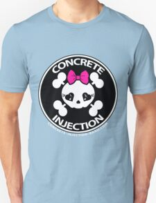 concrete injection baby doll standard logo Unisex T-Shirt