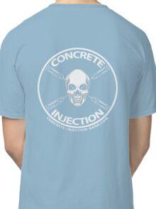 concrete injection skull logo Classic T-Shirt