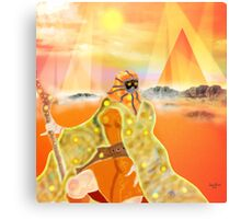 Desert Trooper Metal Print