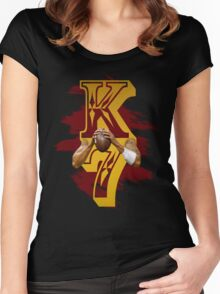 Kaepernick 7 Women's Fitted Scoop T-Shirt