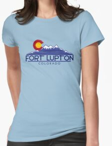 Fort Lupton Colorado wood mountains T-Shirt