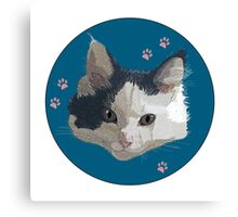 Migi the Kitten Canvas Print