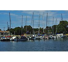 The Masts Have It Photographic Print