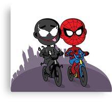 Venom & Spidey Canvas Print