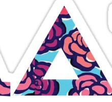 Adpi Letters in Floral Sticker