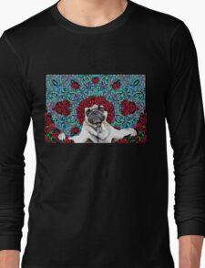 GRATEFUL PUG Long Sleeve T-Shirt
