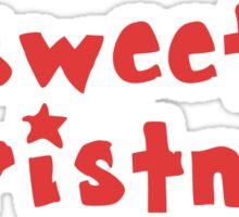 Sweet Christmas Sticker
