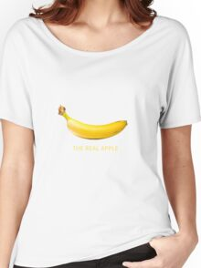 The real Apple Collection Women's Relaxed Fit T-Shirt