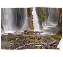 Plitvice waterfalls Poster