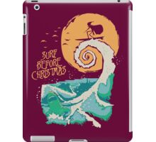 Surf Before Christmas iPad Case/Skin