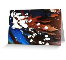 Island Sand Dune Greeting Card