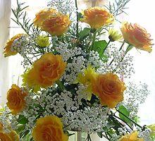 Flower Festival celebrating Golden Wedding Anniversary by lezvee