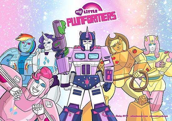 My Little Pwnformers Group by DynamiteCandy