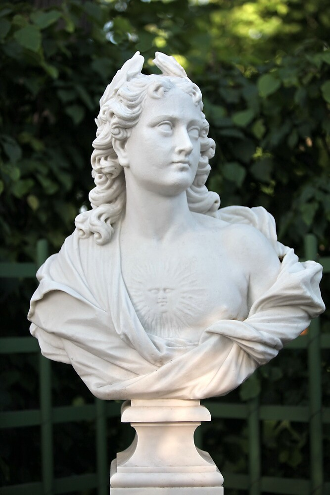 Marble bust by mrivserg